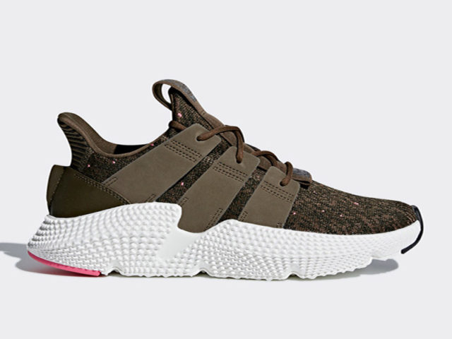 The adidas Prophere is now available in 'Trace Olive'