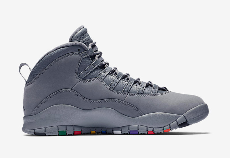 online retailer 6b003 6f19b The Air Jordan 10 Retro  Cool Grey  drops tomorrow, January 27, at select  Titan doors and will retail for Php 9,445.