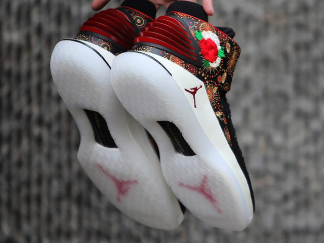 Getting Ready for Chinese New Year in these Air Jordan XXXIIs