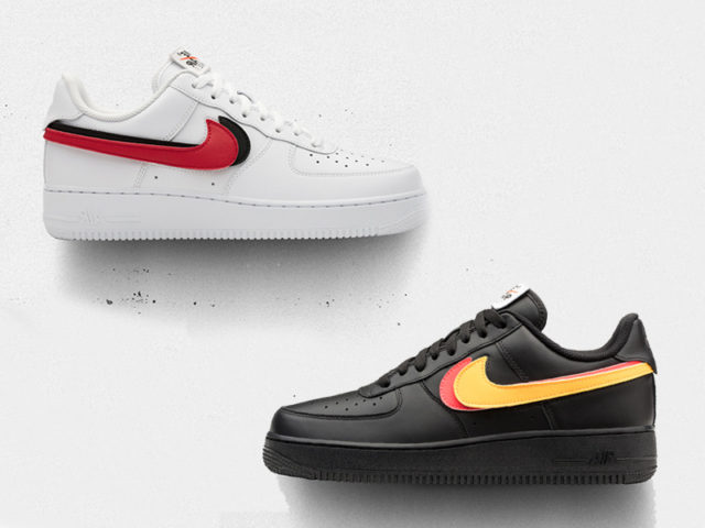 You can now customize your own Air Force 1s with these replaceable Swooshes
