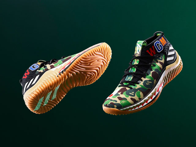 GET READY: adidas ORIGINALS by BAPE x DAME 4