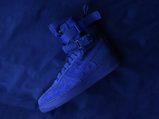 "OUT NOW: Nike SF AF-1 ""BLUE SUEDE"""