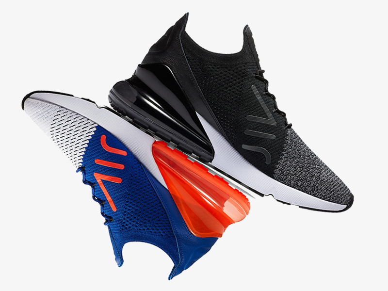 the latest 5f3d4 8be6e nike 270s flyknit