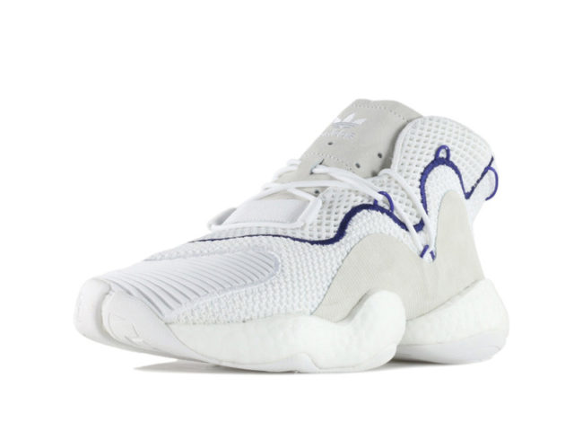 The adidas CRAZY BYW LVL 1 now comes in white