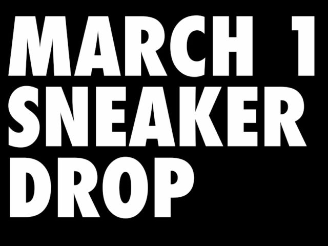 Massive March 1st Release across all stores