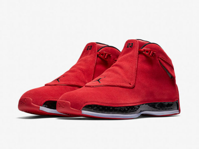 "Release Reminder: Air Jordan XVIII Retro ""Red Suede"""