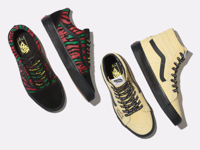 VANS releases their 2nd drop of the VANS x ATCQ collection
