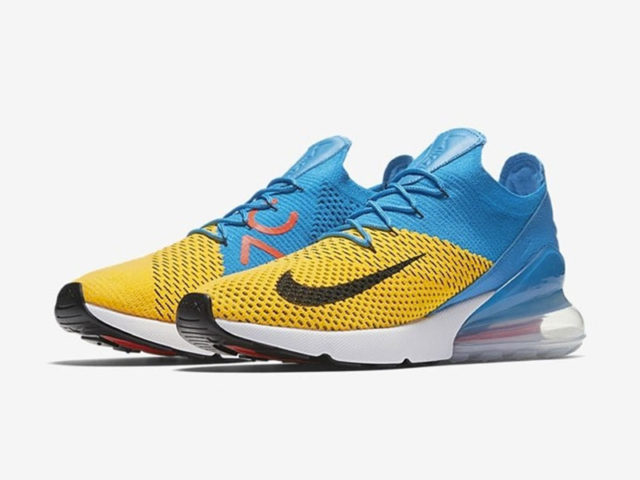 Wolverine? Nike brings out a loud colorway for the Air Max 270 Flyknit
