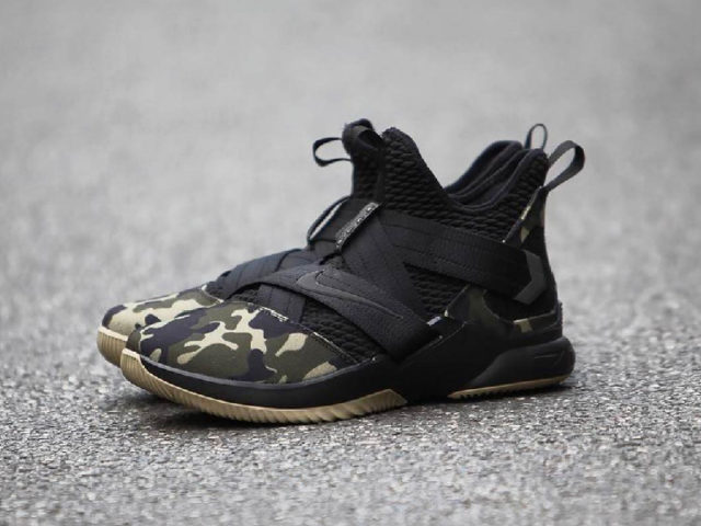 "OUT NOW: Nike LEBRON Soldier XII SFG ""Military Camo"""