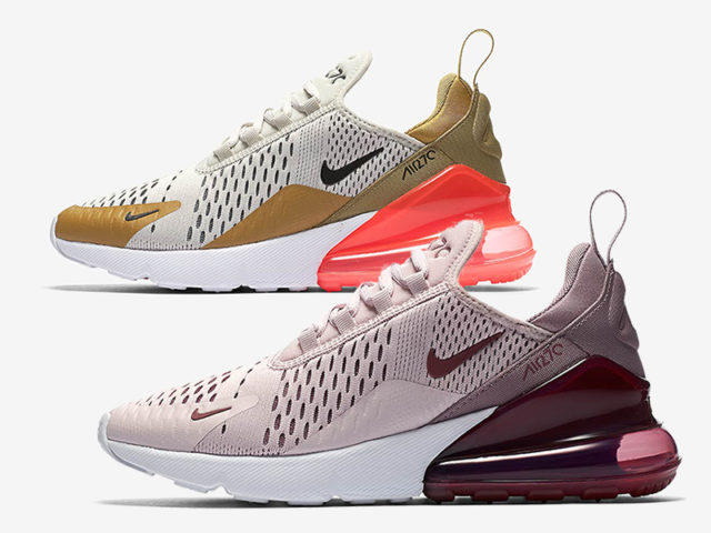 Two new women's exclusive colorways are dropping for Air Max 270