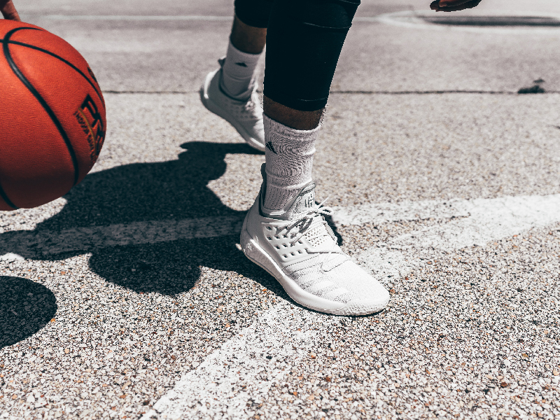 d03523e32794 Would you believe it s been 3 years since adidas signed James Harden   adidas welcomed the Beard with a truckload of new kicks and a limited triple  white ...