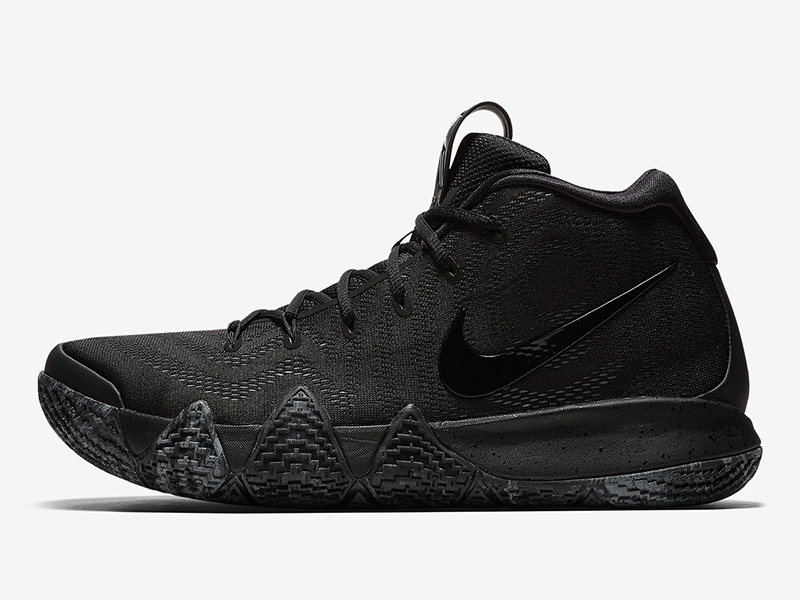 bfdb65a8062c The Blackout Kyrie 4s are perfect for the Blacktop - Sole Movement ...