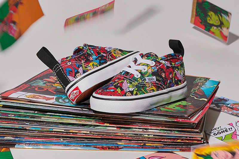 3453a414a3b Comic and Sneaker Geeks Assemble! The Marvel x Vans collection is ...