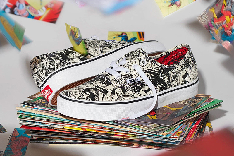 f34c18c8 Comic and Sneaker Geeks Assemble! The Marvel x Vans collection is ...