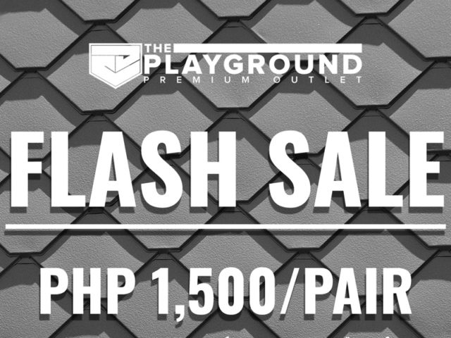 FLASH SALE happening at the PLAYGROUND