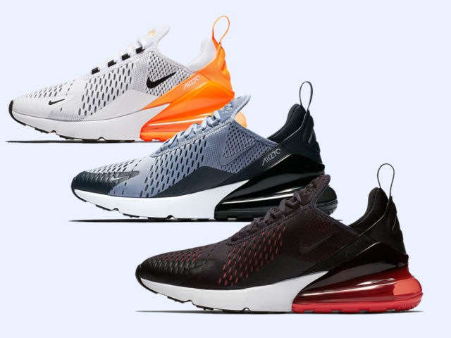Nike releases a couple more Air Max 270 colorways this August
