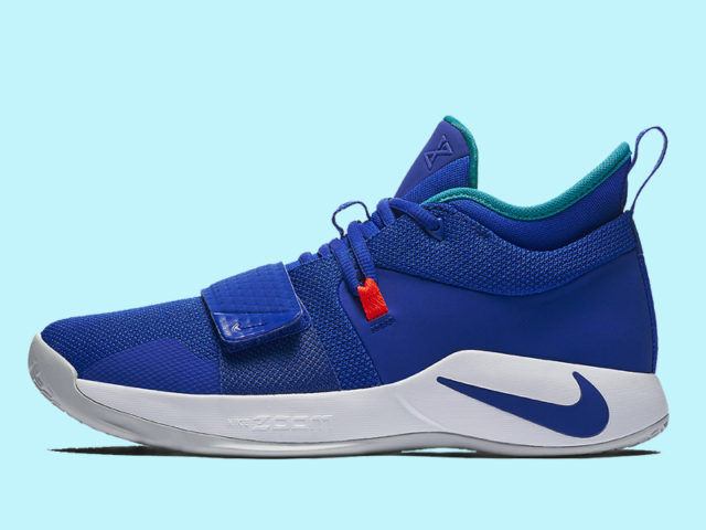 Nike releases the PG 2.5 'Racer Blue' today