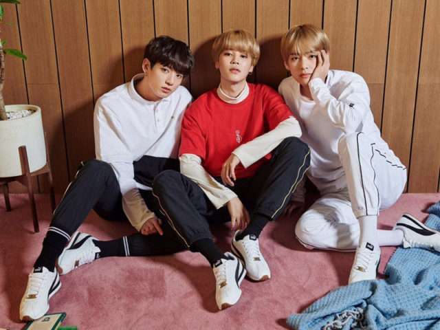 PUMA releases their first sneaker with Kpop group BTS