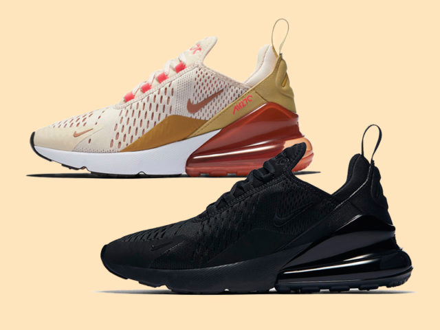 Two new colorways for the Nike Wmns Air Max 270 are now available
