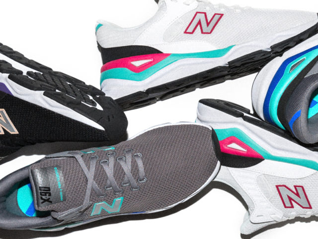 Here's a closer look at the Men's New Balance X-90 'Modern Essentials'