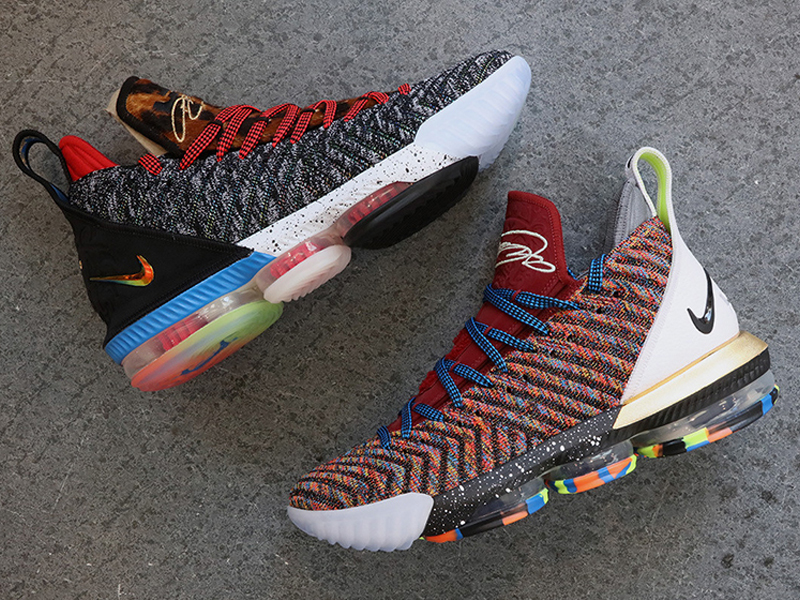 c5eab9a8141 The Nike LeBron 16  1 Thru 5  is dropping this Thursday - Sole ...