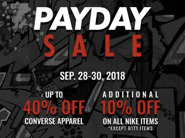 SALE ALERT: THE PLAYGROUND PAYDAY SALE