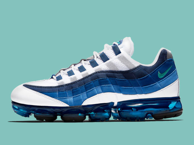 Nike brings back the 'Slate' colorway for the Air VaporMax '95
