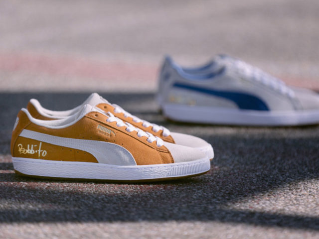 KOOL BOB LOVE celebrates with PUMA with his own Suede Classic