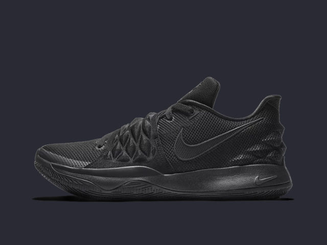Made to Move: The Nike Kyrie Low now comes in 'Triple Black'