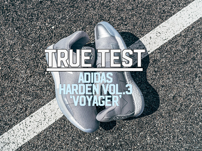 """low priced d51d7 6ce28 As you may already know by now, the adidas Harden Vol.3 drops today. The  initial colorway, the """"Voyager"""", is dressed in a silver upper coupled with  ..."""