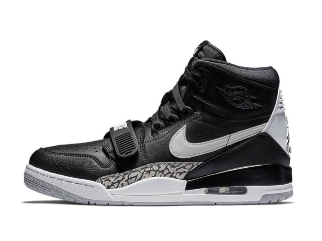 Out Now: Jordan Legacy 312 'Black Cement'