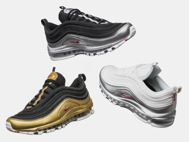 OUT NOW: Nike Air Max 97 QS 'B-Sides Metallic' Pack