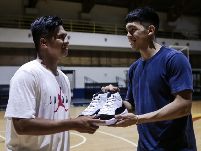 GRAILS & GOATS: Thirdy Ravena gifts the Air Jordan XI to Kiefer