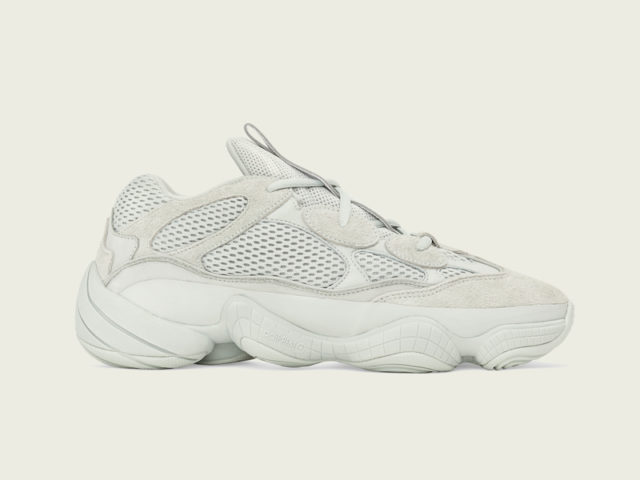 4/4: adidas is releasing the YEEZY 500 'Salt'