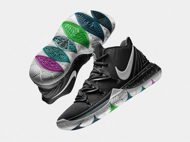 OUT NOW: Nike Kyrie 5 'Black Magic'