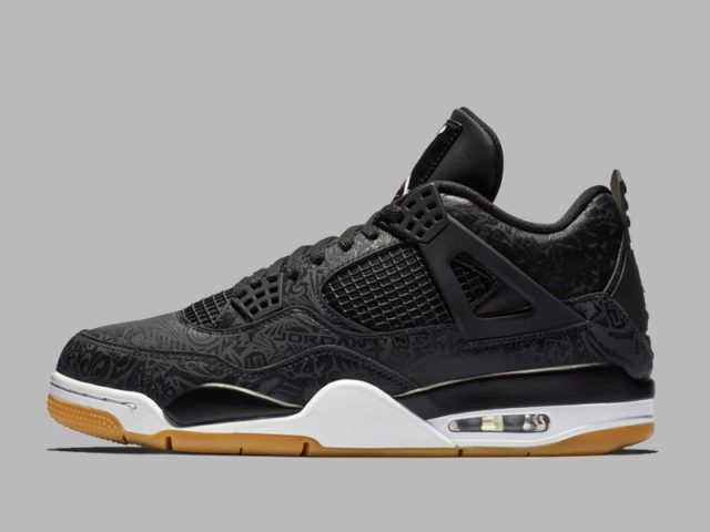 Jordan Brand continues their Air Jordan 4 celebration with the 'Black Laser' 4s