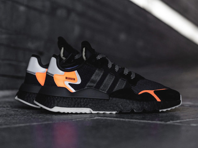Come alive at night with the adidas Nite Jogger