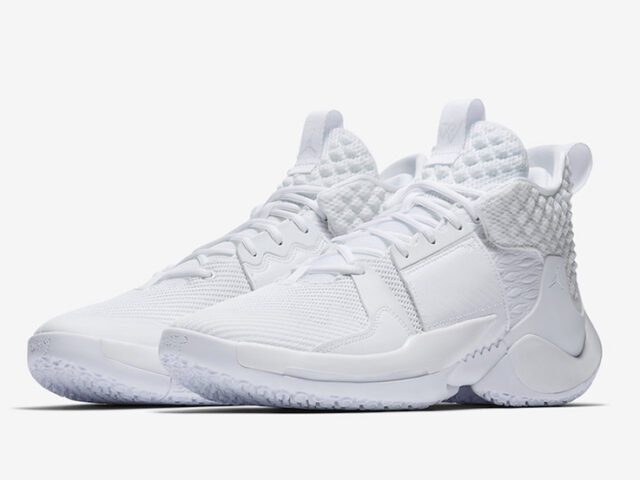 Out Now: Jordan Why Not? Zer0.2 'Triple White'