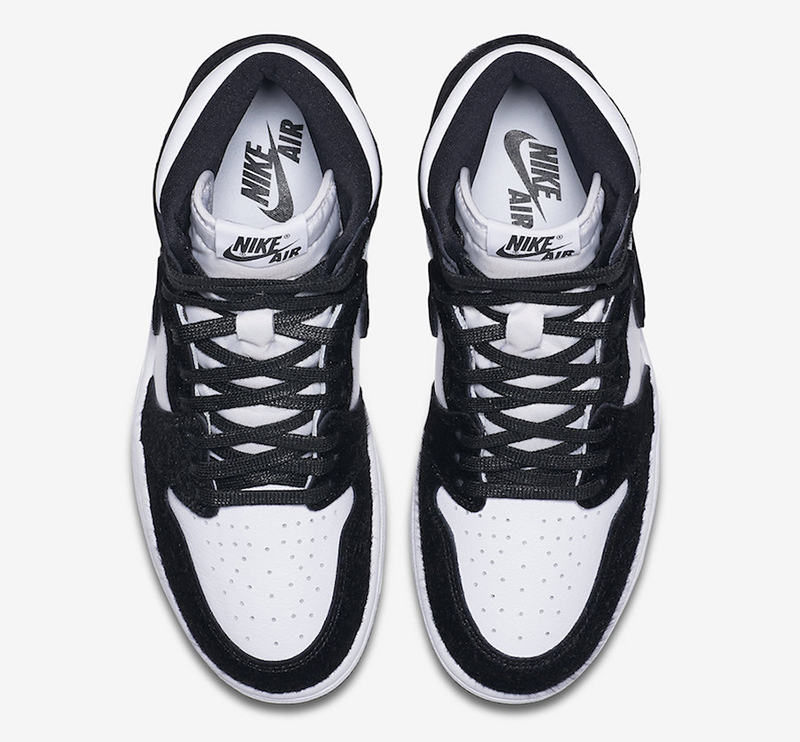 brand new 1dda3 17524 The WMNS Air Jordan 1 Retro High OG  Panda  retails for Php 8,095 and will  be available at Titan (Fort, Conrad, Vertis, Alabang) and Titan22.com.