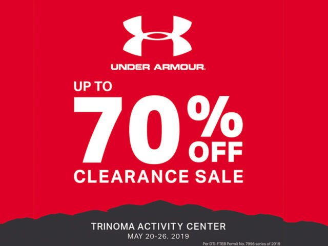 Biggest Sale Ever – the Under Armour Sale starts this Monday