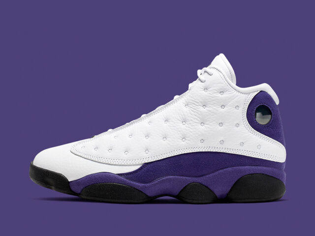 Jordan pays homage to his rivals with this colorway of the Air Jordan XIII