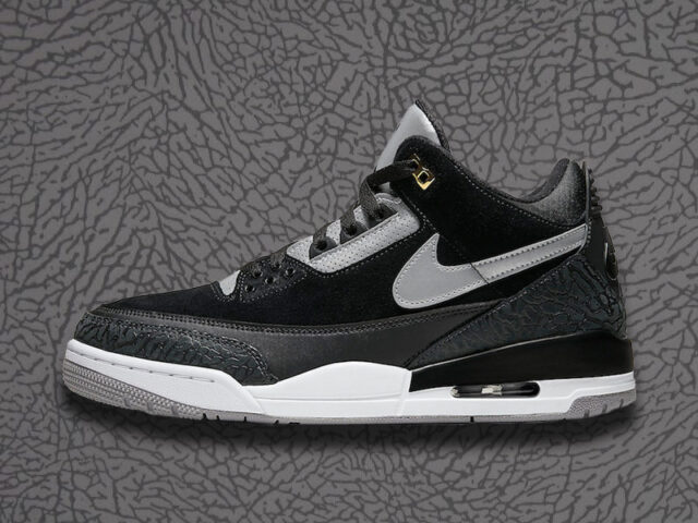 Don't Sleep on These: Air Jordan 3 Retro Tinker 'Black Cement'