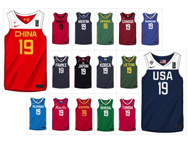 IN FOCUS: Nike and Jordan Brand unveil the new kits for 2019 FIBA World Cup