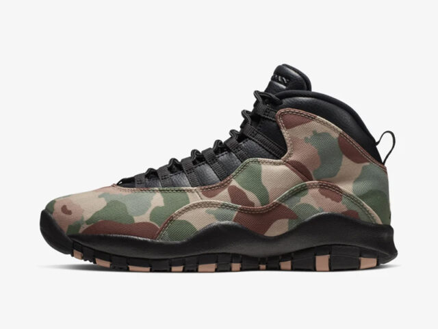Here's how you can cop the Air Jordan 10 Retro 'Duck Camo'