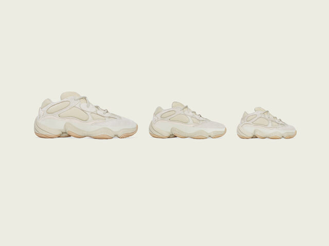 YZY SZN: adidas YEEZY 500 'Stone' drops this weekend
