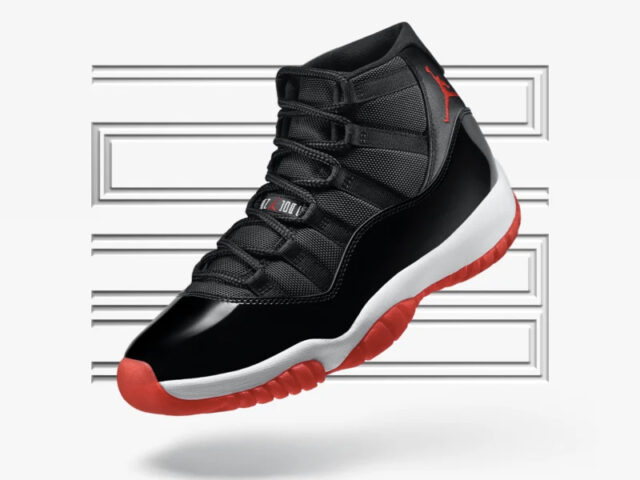 HOLIDAY BRED: the Air Jordan XI Retro 'Bred' is dropping next weekend