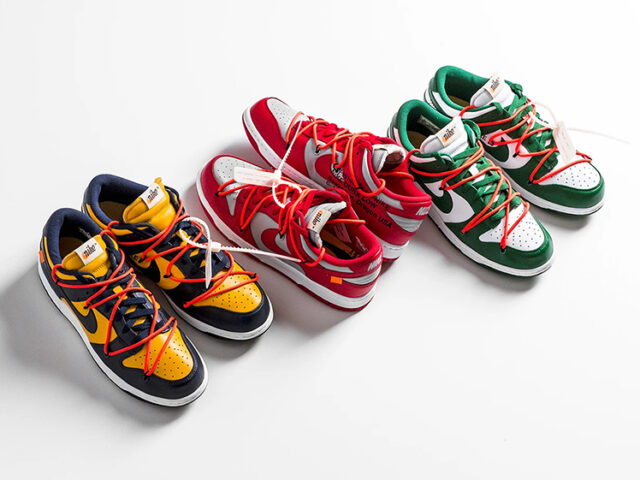 TODAY: Off-White x Nike Dunk Low